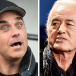 Robbie Williams Jimmy Page settle legal feud pool renovations