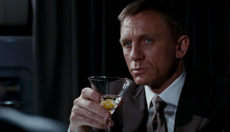 Daniel Craig James Bond 007 Drinking Problem Film Franchise Alcohol Cocktail Alcoholism MGM Franchise Series
