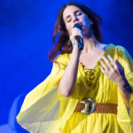 Lana Del Rey debuts new songs as Jack Antonoff's benefit concert, photo by David Brendan Hall