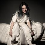 Billie Eilish album cover artwork for When We All Fall Asleep, Where Do We Go?