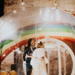 see photos: The Flaming Lips' Wayne Coyne and Katy Weaver married inside a bubble