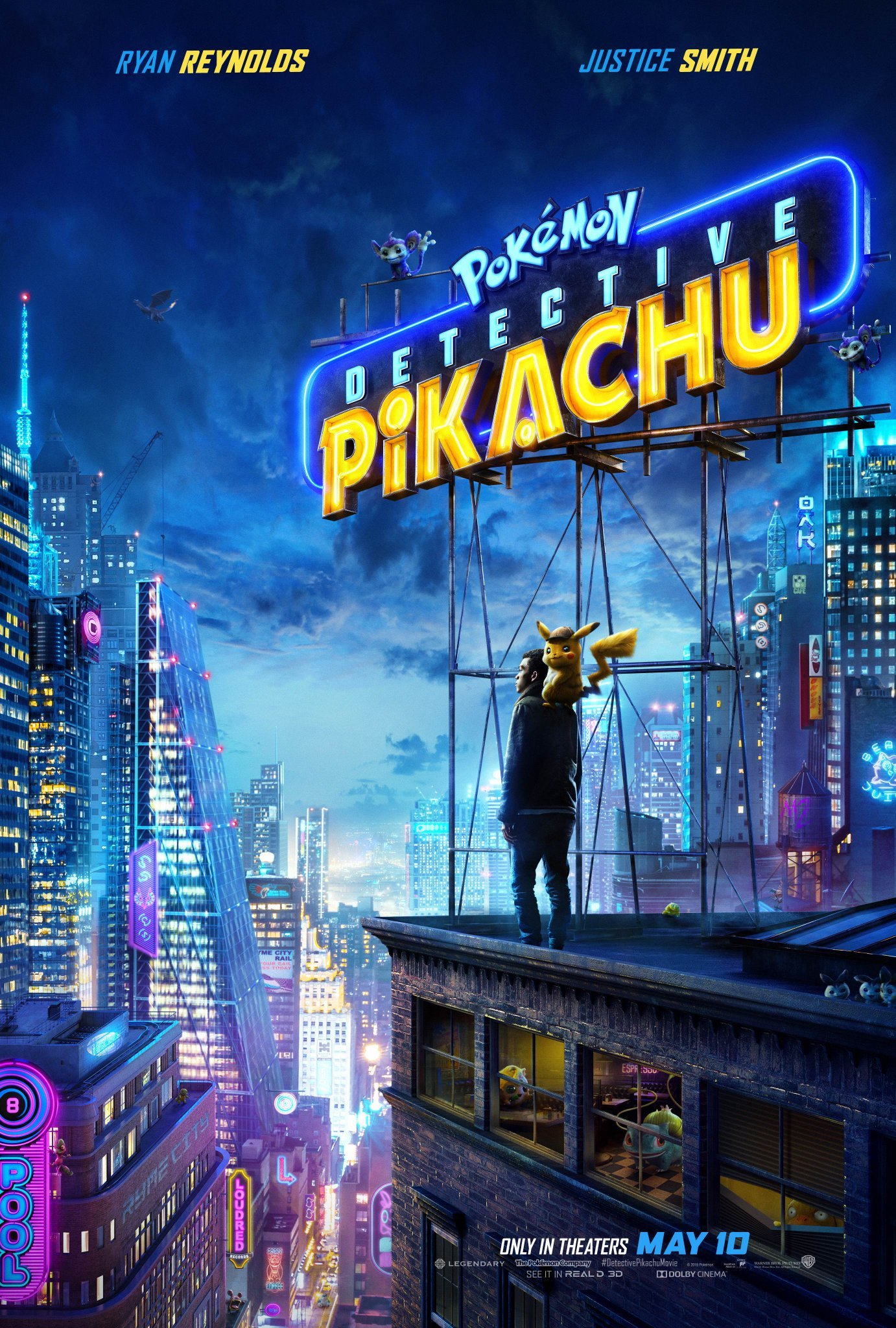 detective pikachu poster movie mewtwo