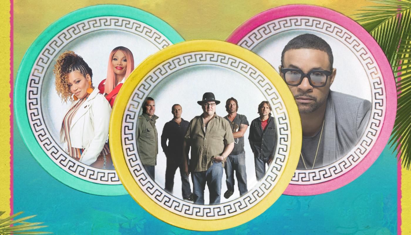 KAABOO Cayman Salt-N-Pepa, Blues Traveler, and Shaggy