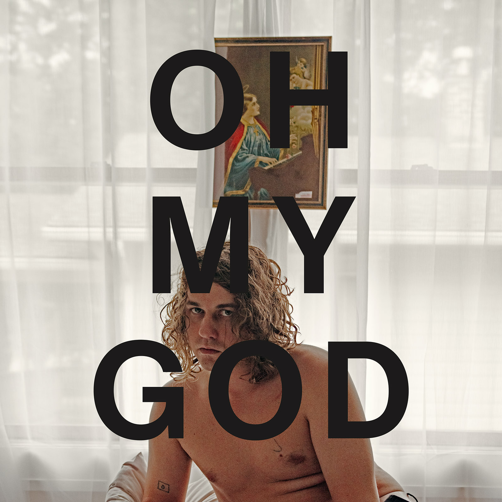 kevin morby oh my god album cover artwork