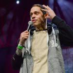 Pete Davidson stand-up comedy heckler Mac Miller interruption removal Ariana Grande Dane Cook