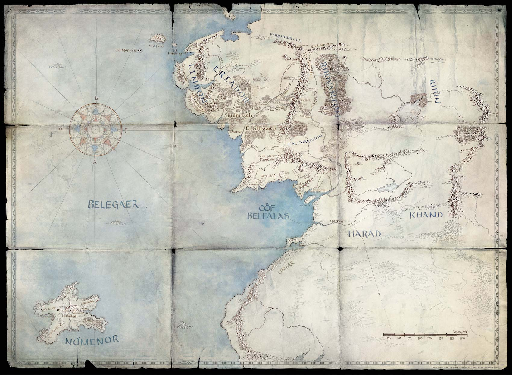 amazon studios lord of the rings second age tv show
