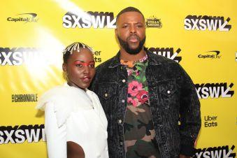 Us, Horror, Jordan Peele, Red Carpet Photo, SXSW 2019, Lupita Nyong'o, Winston Duke