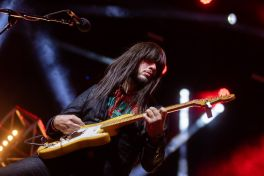 Khruangbin at Coachella 2019, photo by Debi Del Grande