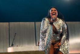 Lizzo at Coachella 2019, photo by Debi Del Grande