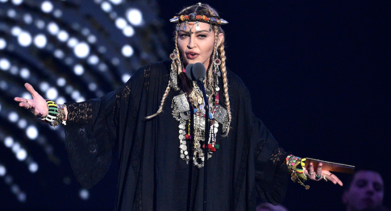 Roger Waters Boycott Eurovision Song Contest Tel Aviv Israel, Madonna at the 2018 VMAs