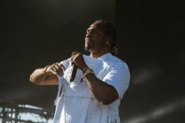 Pusha T at Coachella 2019, photo by Debi Del Grande