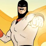 Space Ghost, Cartoon Network, Animation, Pointing