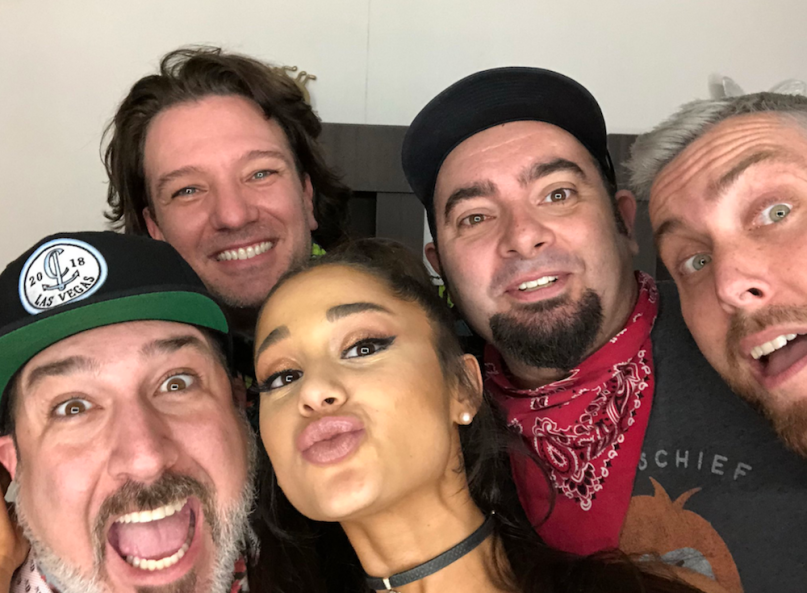 Ariana Grande NSYNC coachella performance nicki minaj diddy mase video