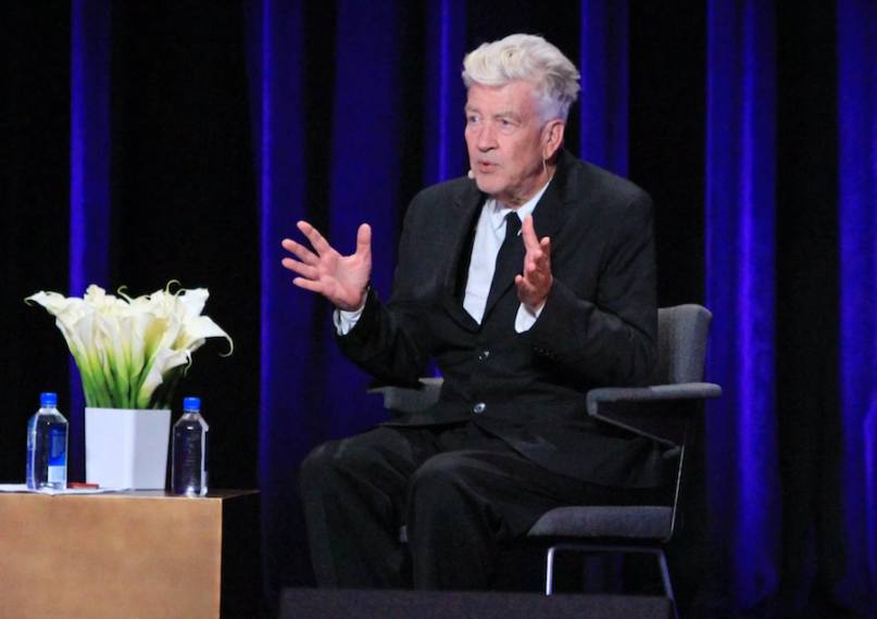 David Lynch, photo by Heather Kaplan festival of disruption new york city 2019 canceled brooklyn