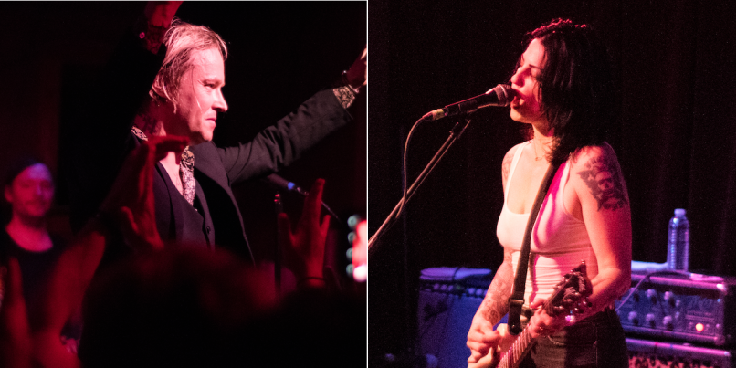 Refused and The Distillers at Ace of Cups
