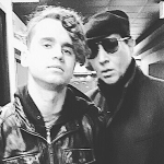 Brandon Pertzborn and Marilyn Manson