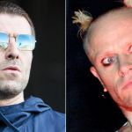 Liam Gallagher and Keith Flint