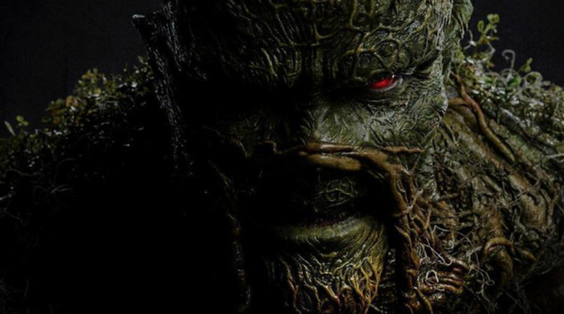 Swamp Thing tv show streaming (DC Universe) canceled