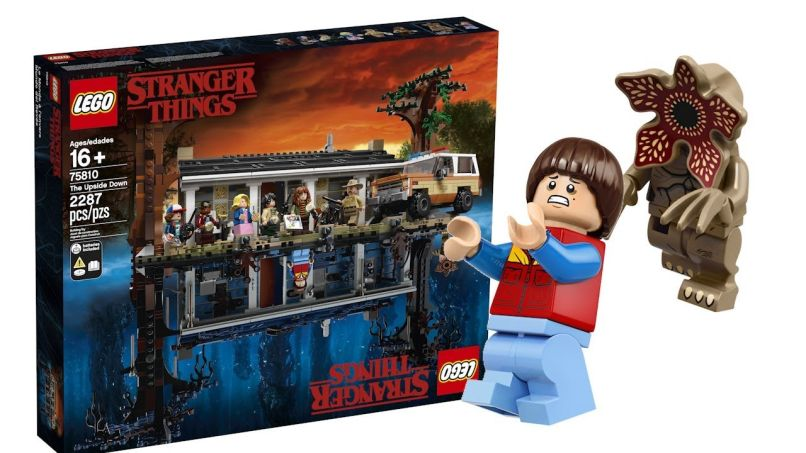 lego stranger things A Guide to All the Stranger Things 3 Merch and Promotions