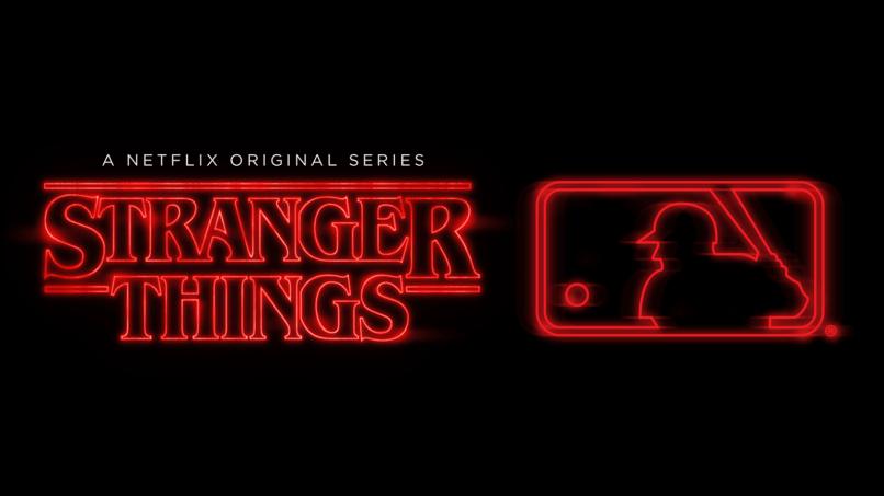 MLB x Stranger Things