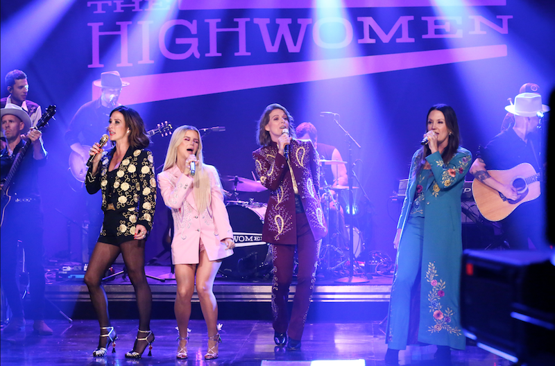 The Highwomen The Tonight Show starring Jimmy Fallon Redesigning Women Amanda Shires Maren Morris Brandie Carlile Natalie Hemby Andrew Lipovsky:NBC