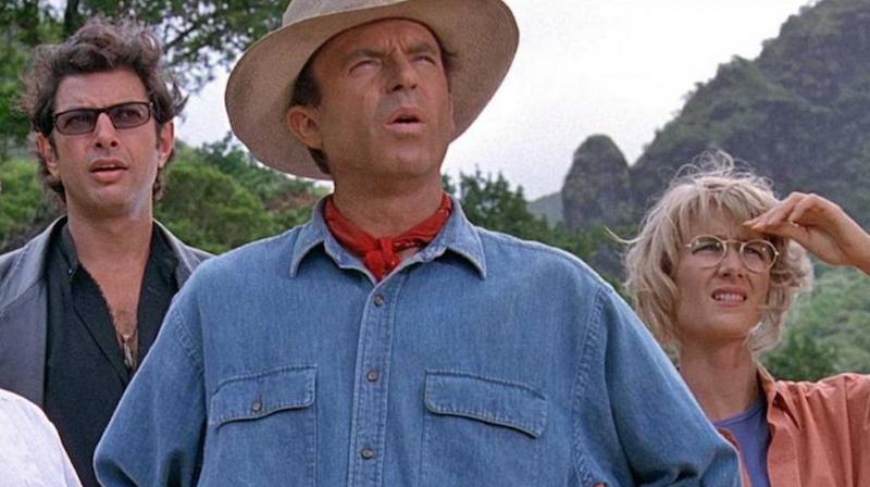 Jurassic World 3 Jeff Goldblum Sam Neill Laura Dern