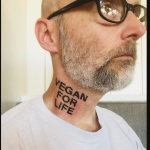 Moby's new neck tattoo