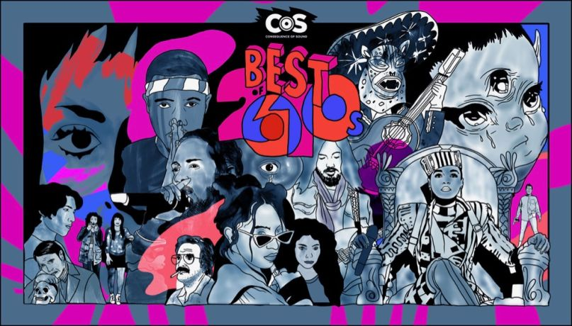 Consequence of Sound's Best of the 2010s, artwork by Steven Fiche