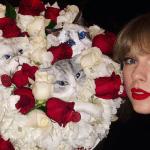 Taylor Swift creepy cat birthday cake