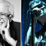 Bernie Sanders Julian Casablancas The Strokes GOTV Rally New Hampshire