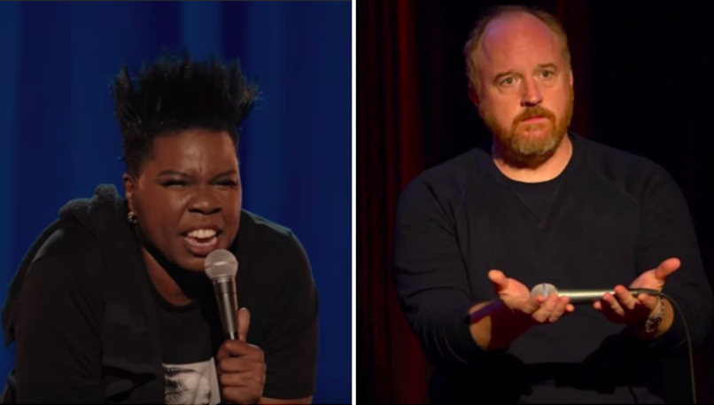 Leslie Jones Louis C.K. Comedy Cellar Protest Boycott