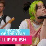 Record of the Year Billie Eilish bad guy