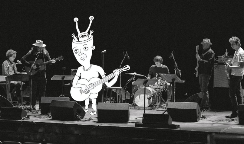 daniel johnston tweedy live album Chicago 2017