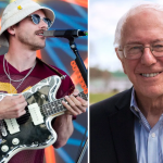 Bernie Sanders Portugal. The Man Rally Tacoma Washington