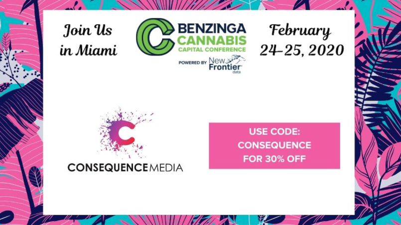 Consequence Media and Benzinga Cannabis Capital Conference