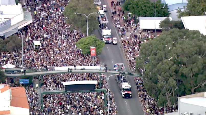AC/DC Highway to Hell parade
