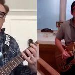 conan adam sandler interview jam guitar opera video