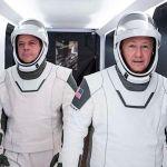 Astronauts listen to AC/DC