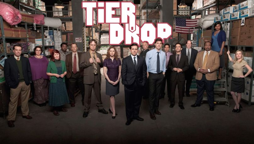 The Office Tier Drop Ranking