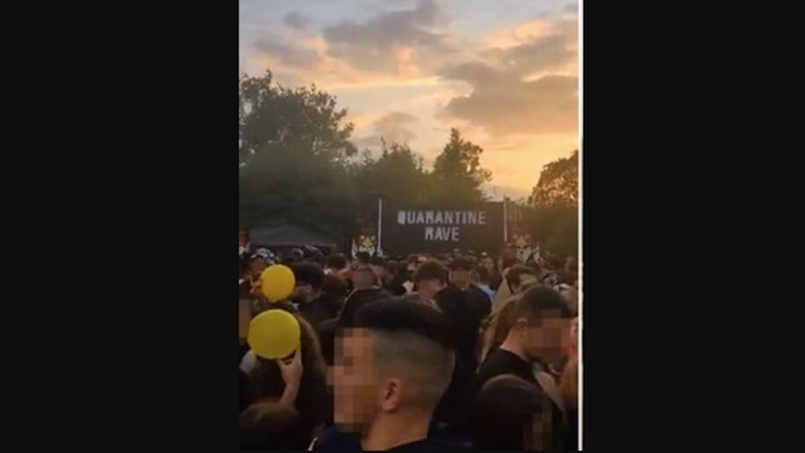 Quarantine Rave UK Overdose Death Stabbings Rape
