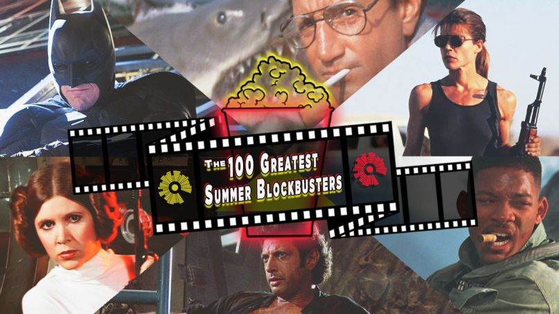 100 Greatest Summer Blockbusters, artwork by Ben Kaye