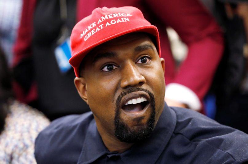 Kanye West PPP loan coronavirus Yeezy, photo via Reuters