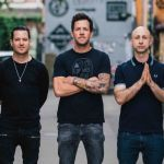 Simple Plan (David Desrosiers, pictured second to left)