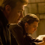Christopher Nolan and Leonardo DiCaprio in Inception