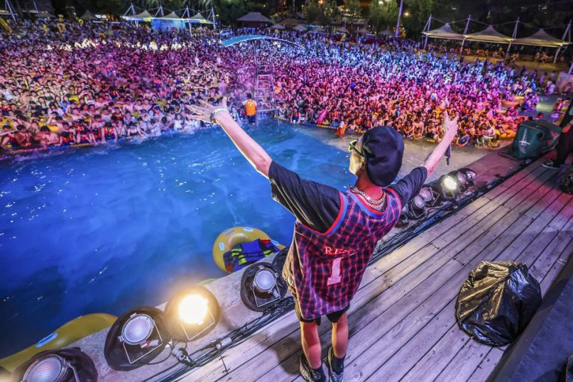 Wuhan EDM concert
