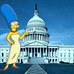 A Brief History of Marge Simpson Versus Washington