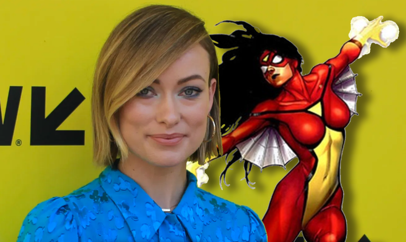 olivia wilde spider-woman movie sony marvel