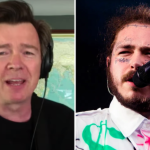 rick astley post malone better now cover
