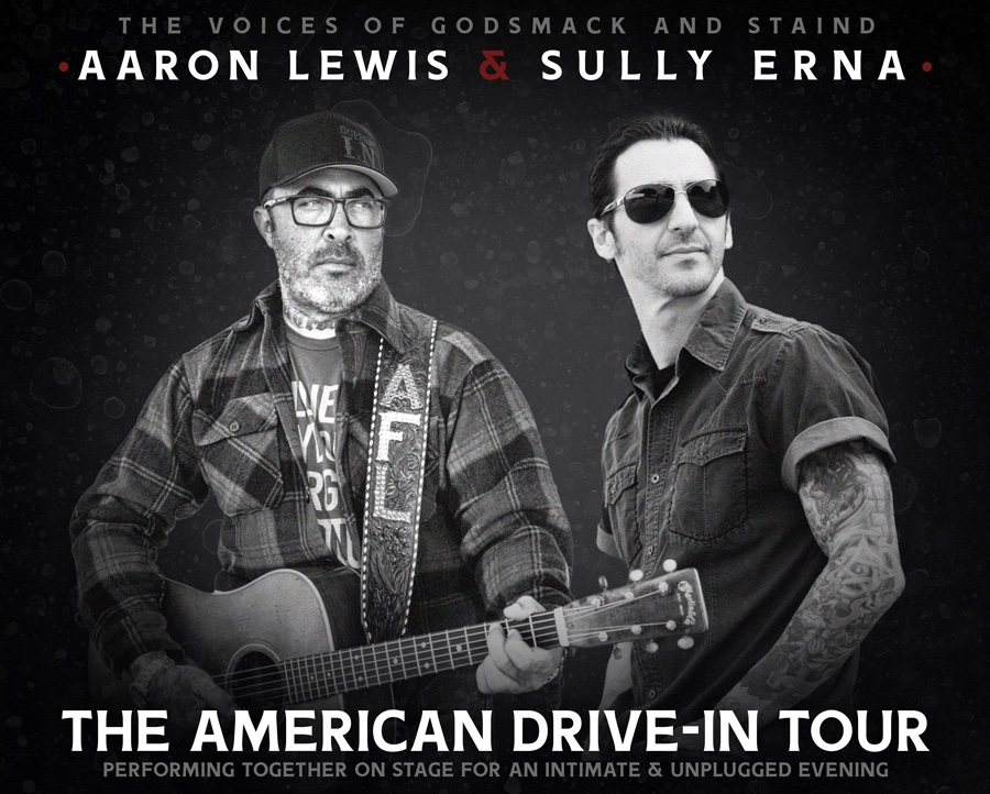 Aaron Lewis Sully Erna tour poster