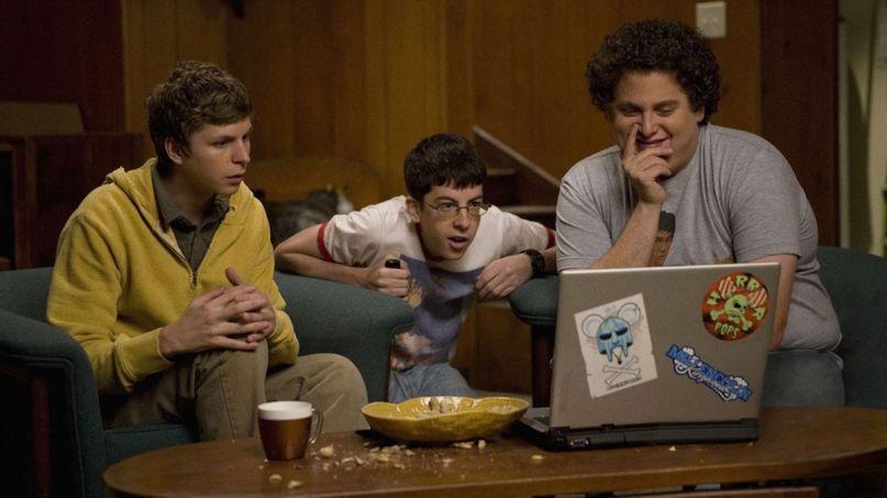 Superbad reunion livestream cast reunite watch party stream (Columbia)